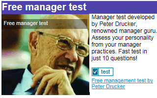 Free Manager Test